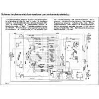schema  elettrico Ape
