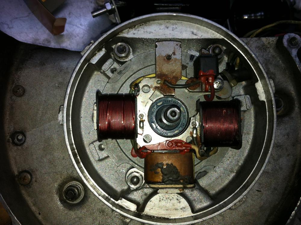 Schema Elettrico Vespa Pk 50 Xl : Statore pk su blocco special anticipo elettrica ed