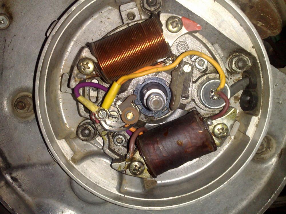 Schema Elettrico Lambretta J50 : Schema elettrico bobina di accensione impianto d