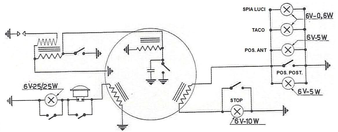 Schema Elettrico Vespa Et3 : Problema elettrico et elettrica ed elettronica