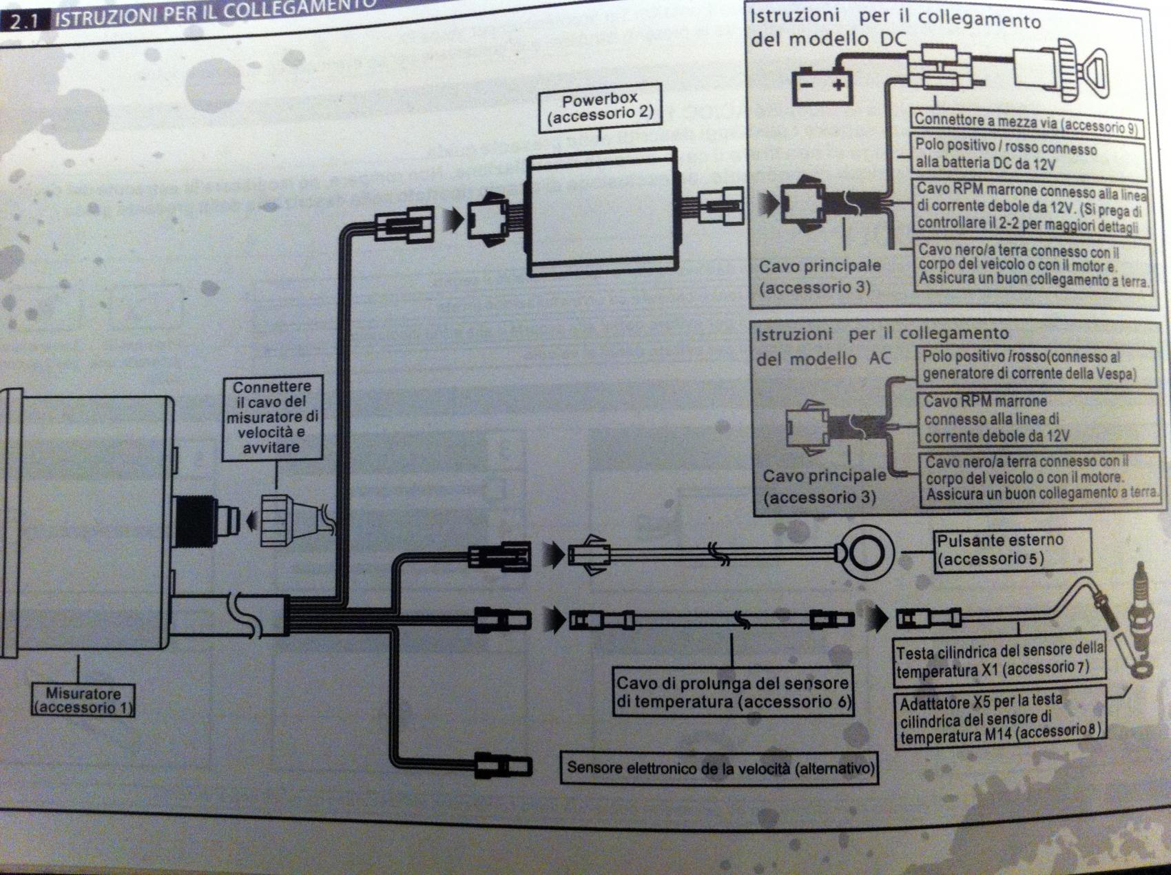 Schema Elettrico Regolatore Di Tensione Velocità Motore Elettrico Corrente Continua : Montaggio batteria e stacca batteria vespa pk 50 xl elettrica ed