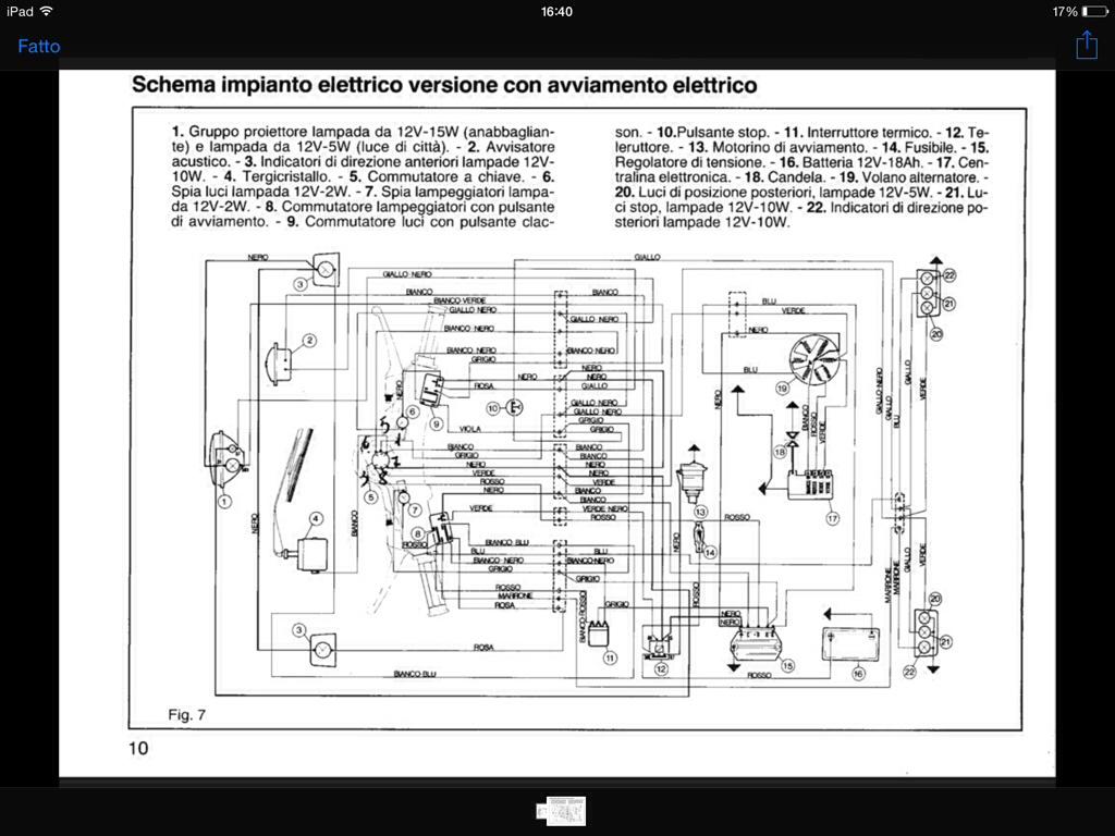 Schema Elettrico Lampada : Troppa corrente elaborazioni e tecnica ape et3.it il forum