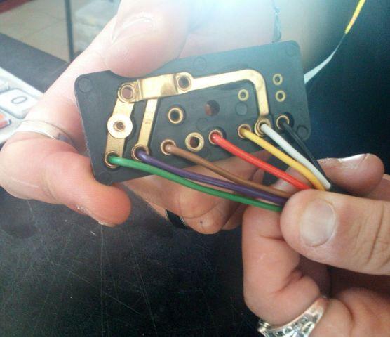 Schema Elettrico Per Deviatori Luci : Vespa pks modifica impianto v ac luci con accensione parmakit