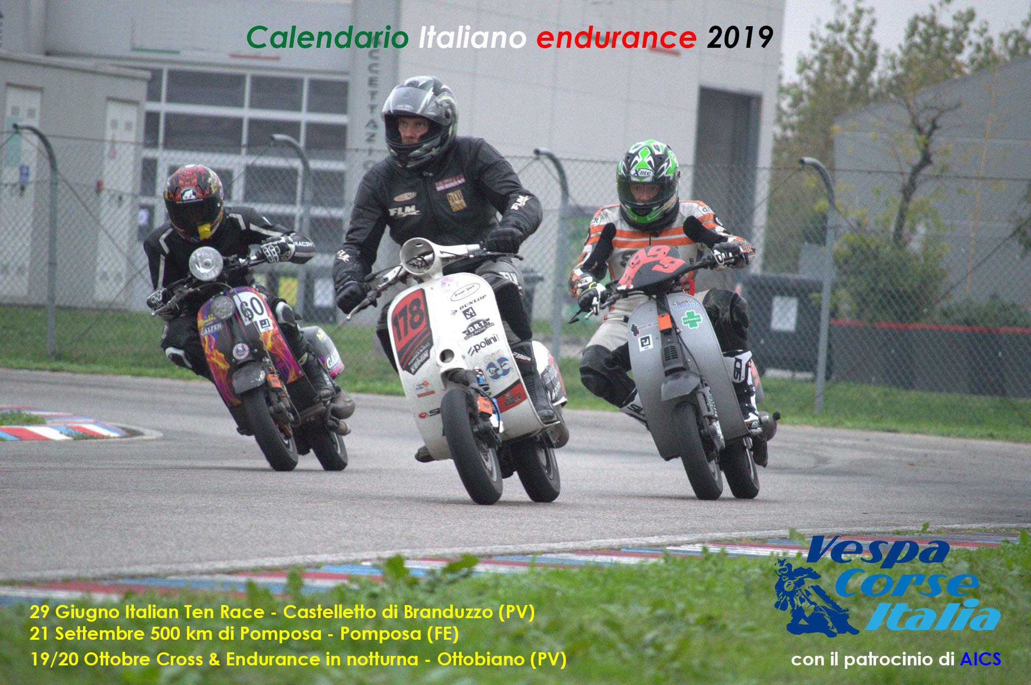 Calendario Castelletto Di Branduzzo.Calendario Italiano Endurance Cross 2019 Gare In Pista