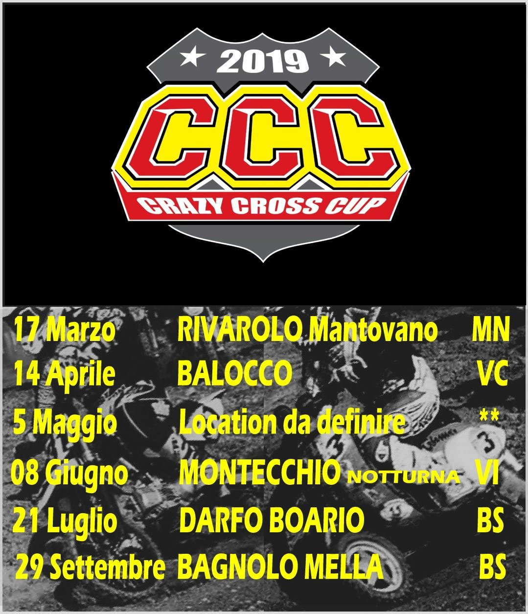 Calendario Vespa 2020.Calendario Italiano Endurance Cross 2019 Gare In Pista
